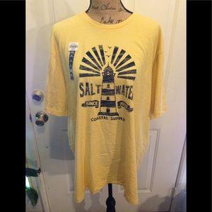 NWT Men's Izod Saltwater Short Sleeve Tshirt